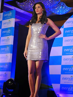 Nargis Fakhri  Pictures in Short Dress at Everyouth Naturals Face Wash Launch  31)