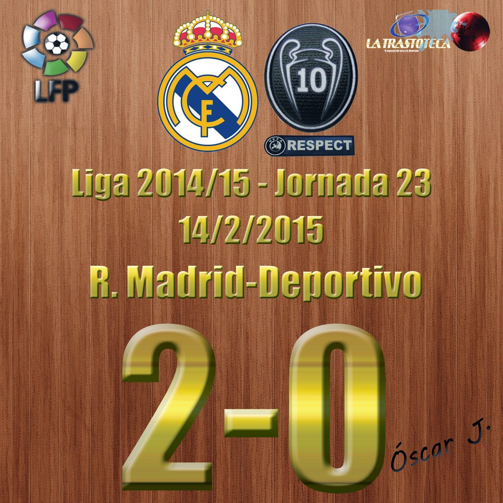 Isco (1-0) - Real Madrid 2-0 Deportivo - Liga 2014/15 - Jornada 23 - (14/2/2015)
