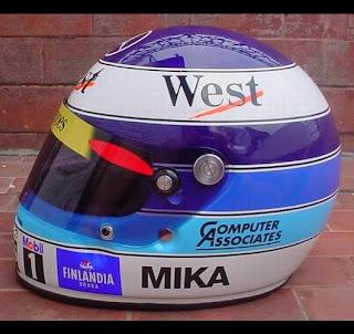 Il casco di Mika Hakkinen