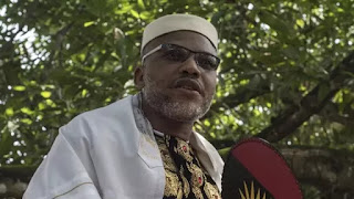 British Government seeks Nnamdi Kanu's whereabouts from FG