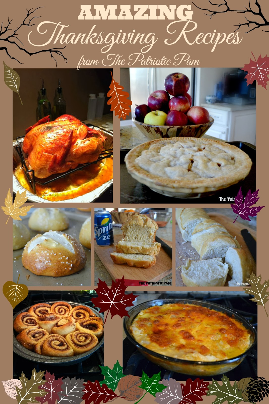 Decorating Ideas > Gallery For > Thanksgiving Dinner Menu Ideas ~ 074229_Thanksgiving Recipes Decorations