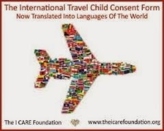 International Travel Child Consent Form Available In Languages Of The World