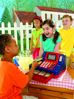 Learning Resources Teaching Cash Register in transaction