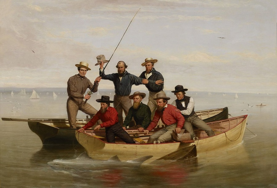 It 39 s about time gone fishing in 19c america for Fishing long island
