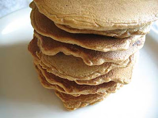 Ginger Molasses Pancakes with Mixed Dried Fruit