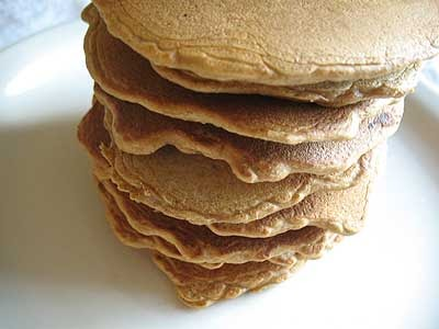 Ginger Molasses Pancakes with Mixed Dried Fruit | Lisa's Kitchen ...