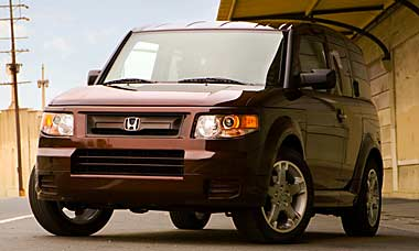 The compact SUV honda element 2012,