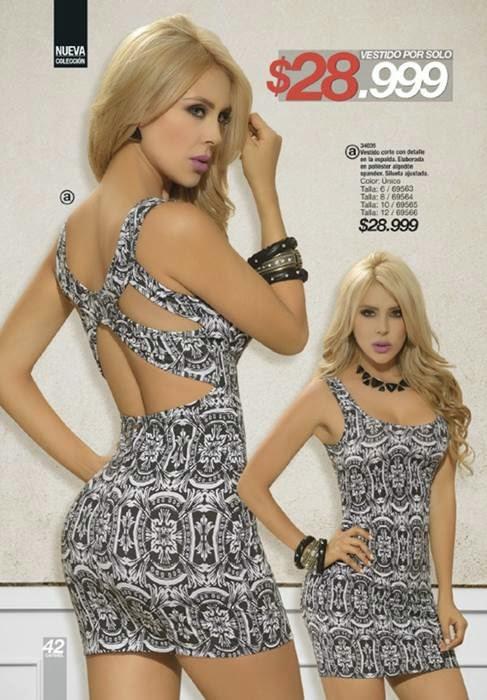 Vestido Corto de Carmel C-16-14