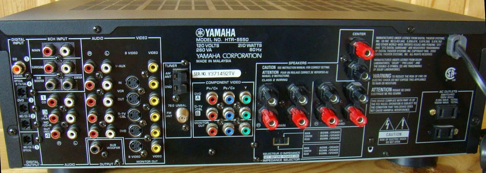 yamaha htr 5550 av receiver audiobaza rh audiobaza blogspot com yamaha htr 5560 manual yamaha htr 5560 manual