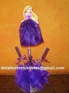 Children's Parties Decoration Tangled, Rapunzel, Centerpieces