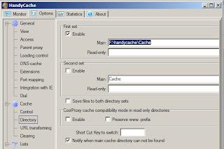 install handycache terbaru