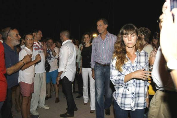 King Felipe And Queen Letizia Attended A Concert In Mallorca