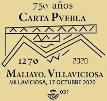 Matasellos de la Carta Puebla de Villaviciosa