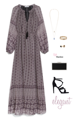 boho dress elegant look