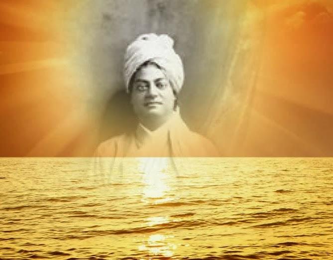 Artistic image of Swami Vivekananda