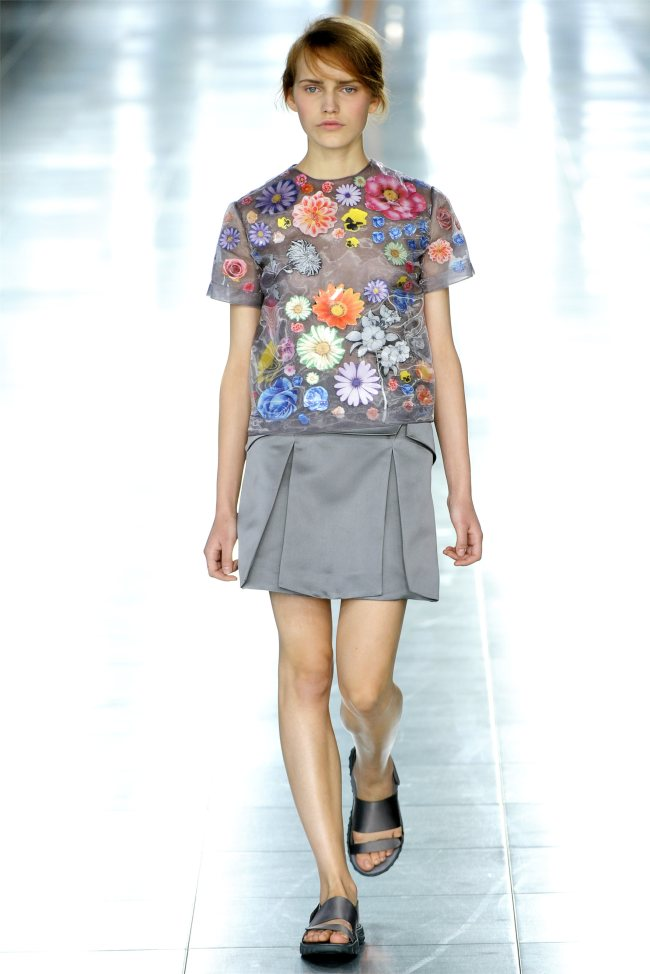 Touring in cars with boys. Drive me insane Christopher Kane