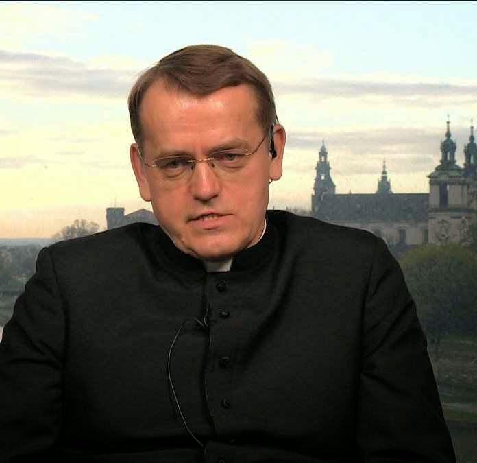 Pe. Dariusz Oko, docente de Teologia na Pontifícia Academia de Cracóvia