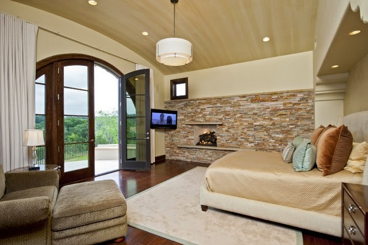 Paint ideas for bedrooms with accent wall for Wallpaper accent wall ideas living room