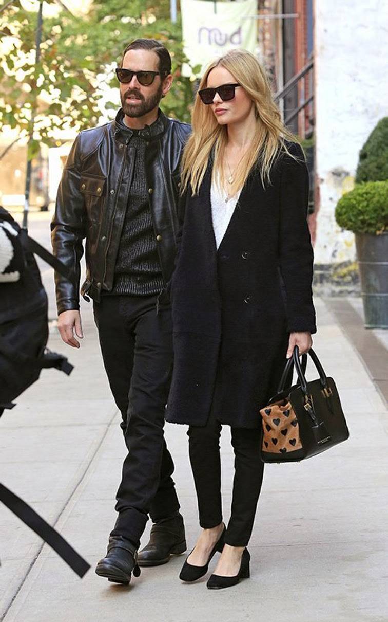 Kate Bosworth Michael Polish Street Style