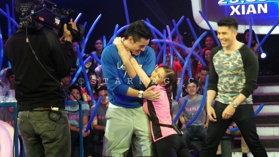 Kim Chiu and Xian Lim on Minute to Win It