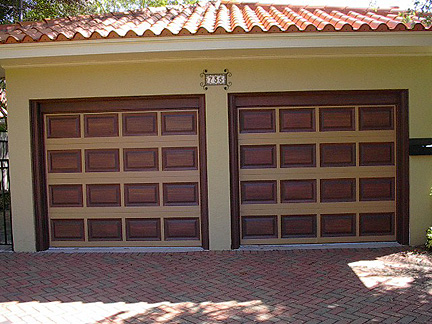 i also use the exact same painting procedure when i paint front entry doors to look like wood the double entry doors in the next photograph where painted a - Garage Door Paint Colors