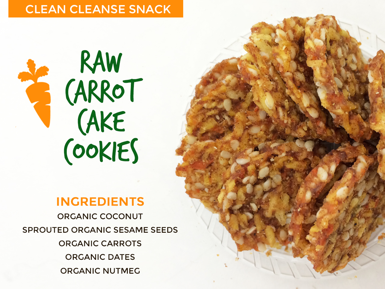 Clean 28 Day 2 Raw Carrot Cake Cookies Bbg Workout