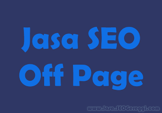 Jasa SEO Off Page