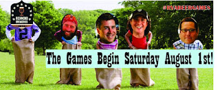 RVA Beer Games at Lickinghole Creek Craft Brewery, Saturday, August 1st, 2015