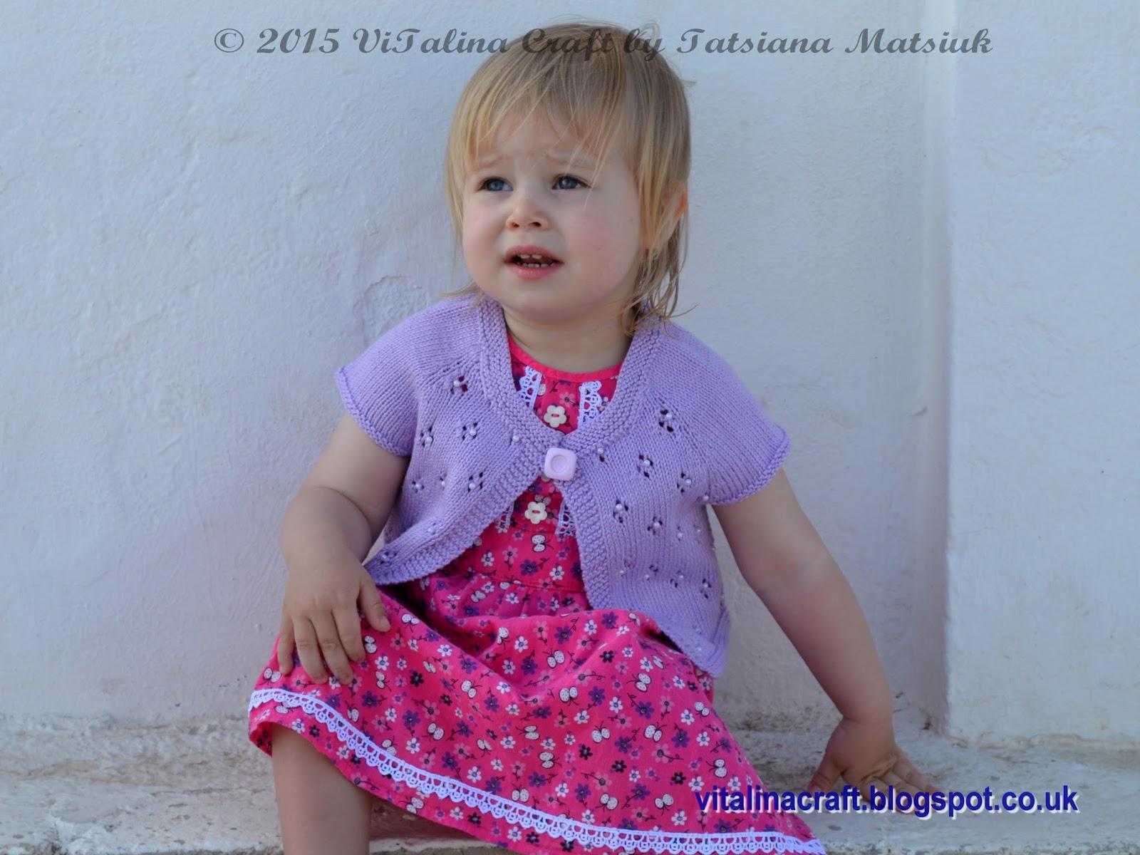 Violet Coast Bolero   ViTalina Craft