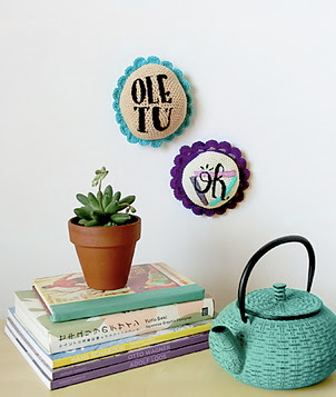 free crochet pattern amigurumi wall art