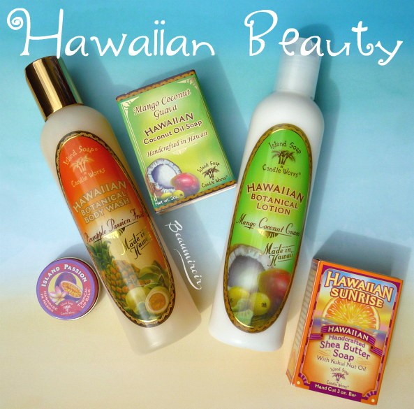 Hawaiian Beauty: bath and body products from Hawaii