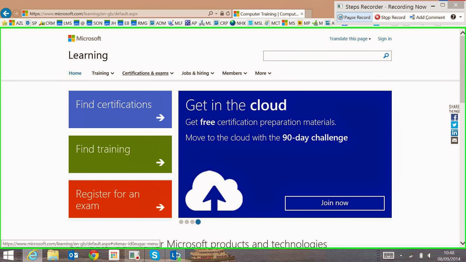 It learning training and certification how to book a microsoft to get started you will need to navigate to your preferred exam and login to your microsoft account firstly open your browser and go to https xflitez Image collections