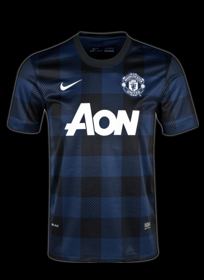 Manchester United AWAY KIT 2013-2014 Black