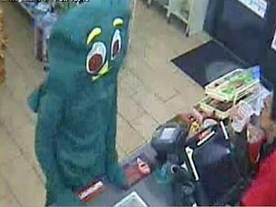 Gumby Costumed Guy