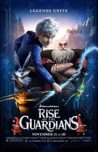 Poster original de El origen de los guardianes, de Peter Ramsey