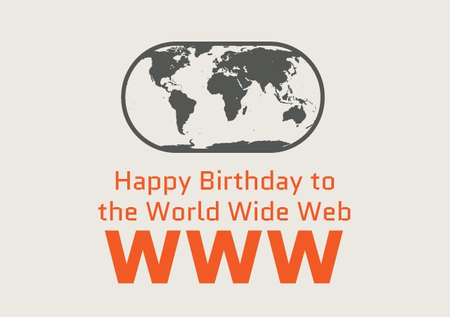 Image: Happy Birthday to the World Wide Web
