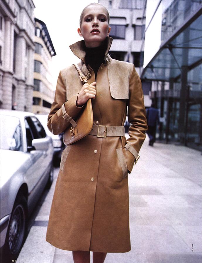 Vogue Italia October 2000 via www.fashionedbylove.co.uk