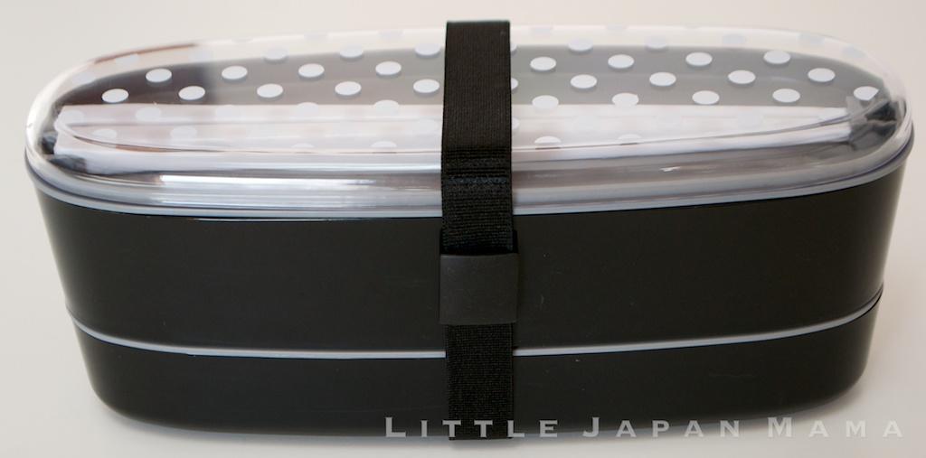 little japan mama oval slimline 2 tier bento box set. Black Bedroom Furniture Sets. Home Design Ideas
