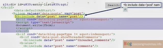 Nhúng bình luận facebook vào blogspot