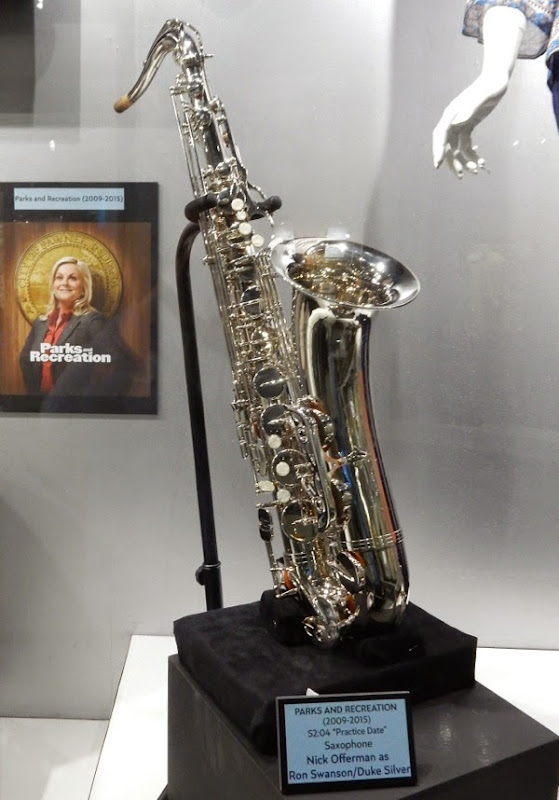 Parks and Recreation saxophone prop