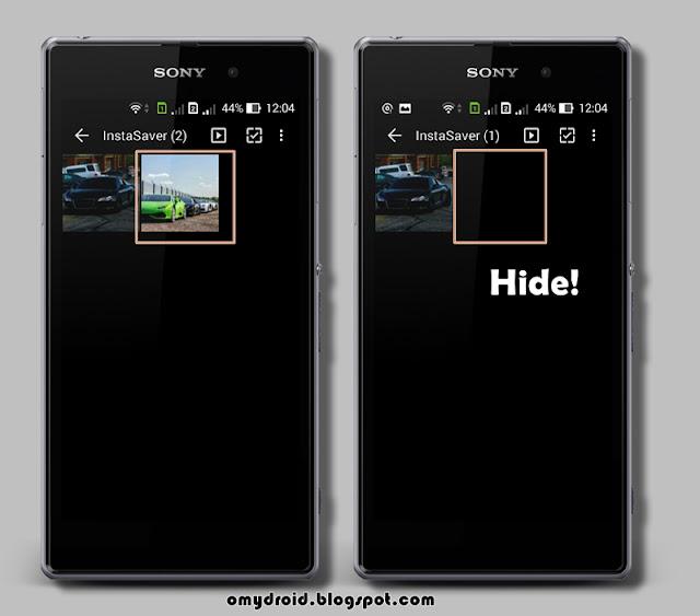 Cara Sembunyikan Fail Android