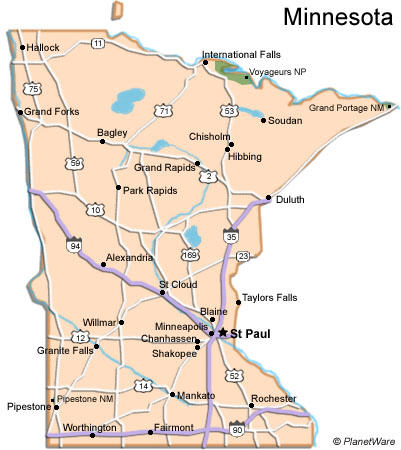 Katalusis Minnesota And Wisconsin Sister States In Political Turmoil - Map of wisconsin lakes and rivers