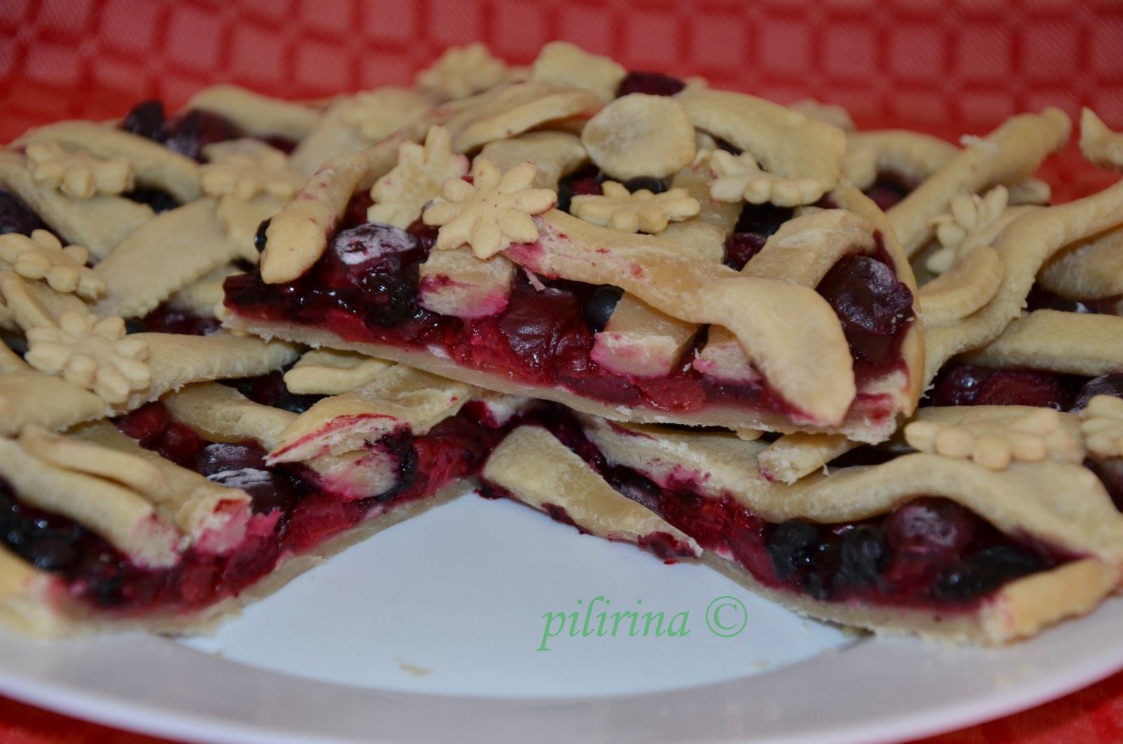 Пирог вишневой начинкой рецепт