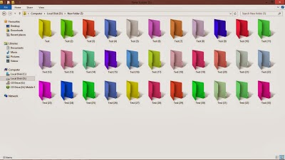 Download Software Merubah Warna Folder Colorizer 1.3.1 Full Version