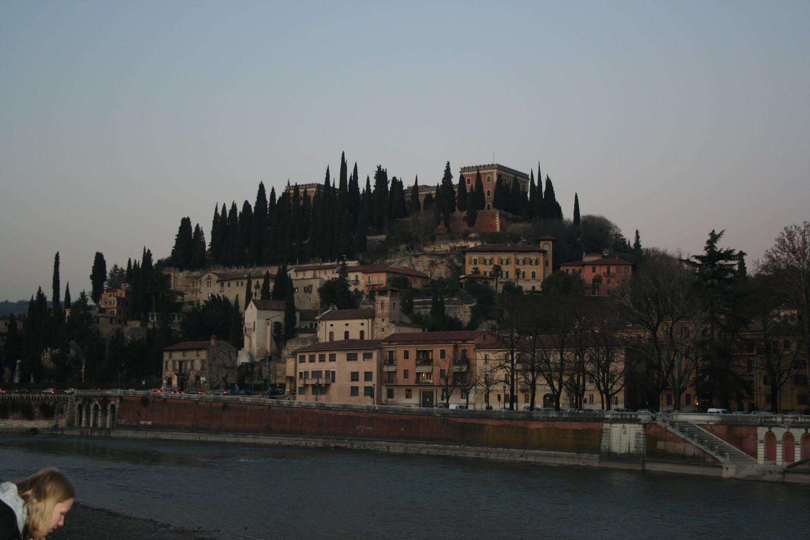 Verona - hill across the river