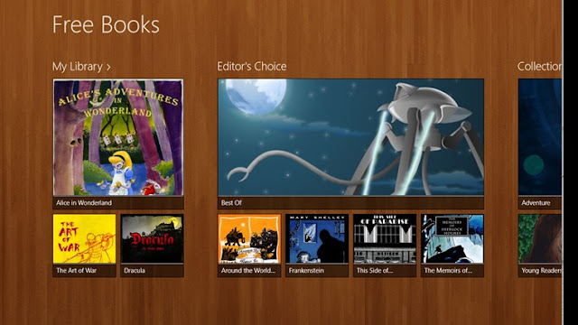 free books app for windows 8