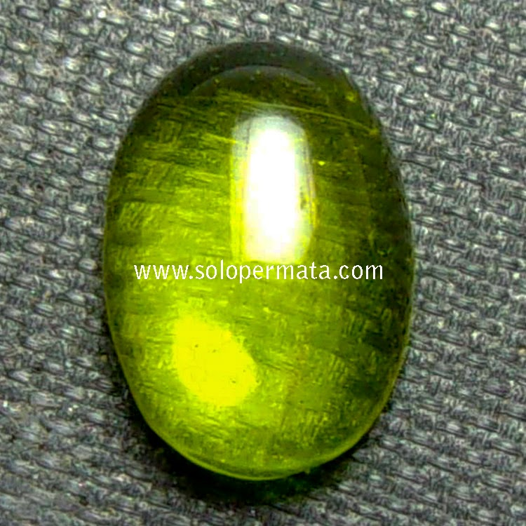 Batu Permata Green Peridot - 02B08