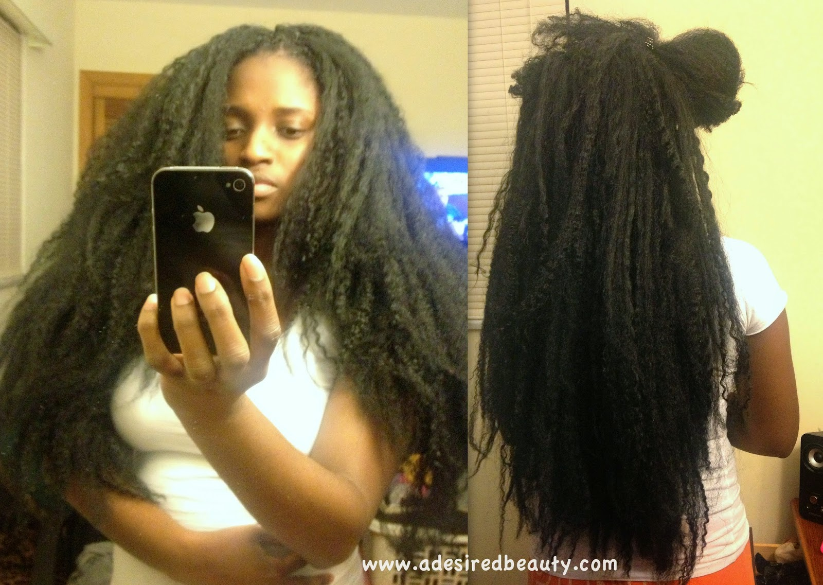 My Crochet Braids {Using Braiding Hair} A Desired Beauty