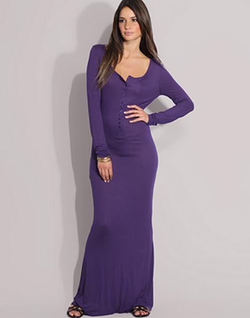 Sleeve Maxi Dress