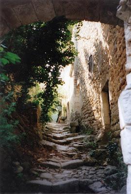 photo d'Oppède le Vieux en Provence